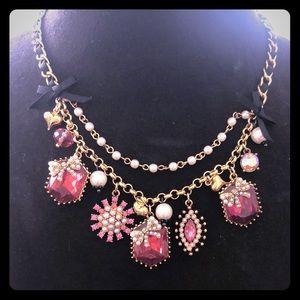 Betsey Johnson Rhinestone Necklace